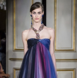 Giorgio Armani Prive2018秋冬高定巴黎时装周