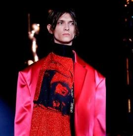 Raf Simons 2019 春夏系列 高级时装的剪裁