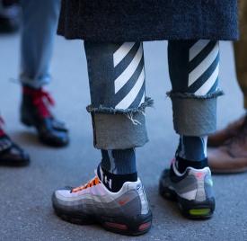 2017运动鞋流行趋势男 运动潮流席卷时装周