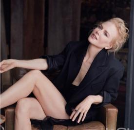 影后妮可·基德曼Nicole Kidman 登《InStyle》7月号封面